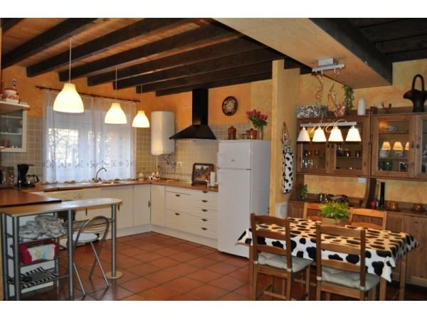 Vista de la cocina, contigua al salon