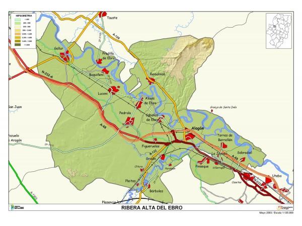 mapa de Casa Rural Hospital Del Temple