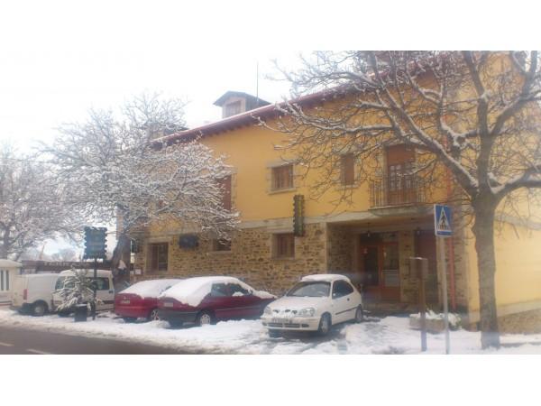 El hotel nevado
