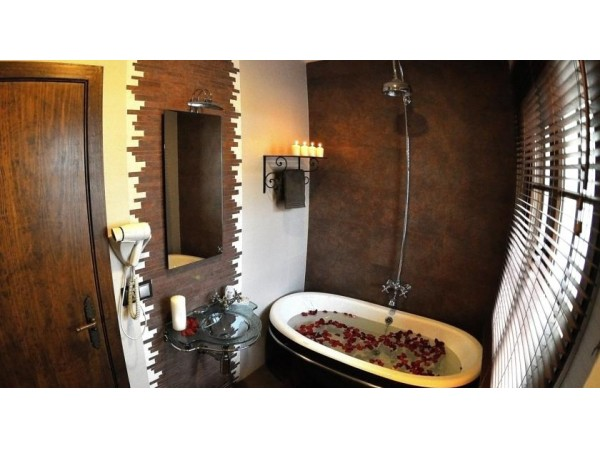 Bañera de Hierro Fundido Habitación 3