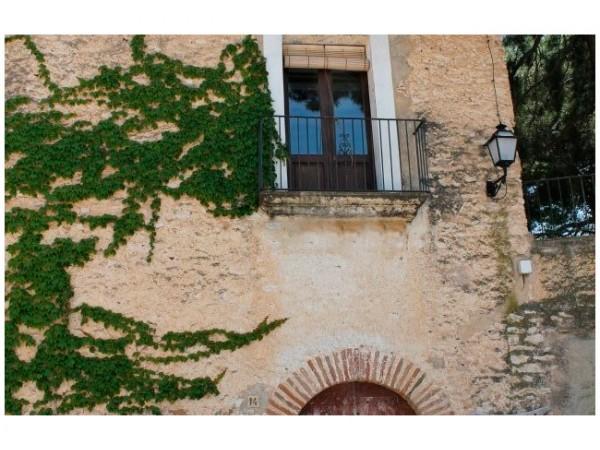 parte de la fachada de Cal Magí