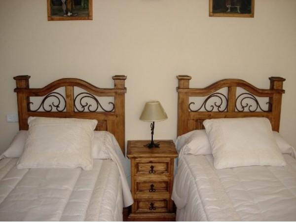 Dormitorio doble.