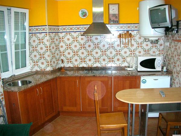 cocina apartamento de dos plazas