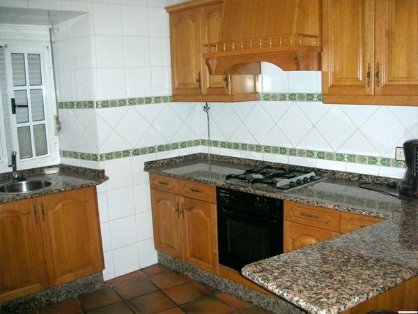 cocina casa de 14 plazas