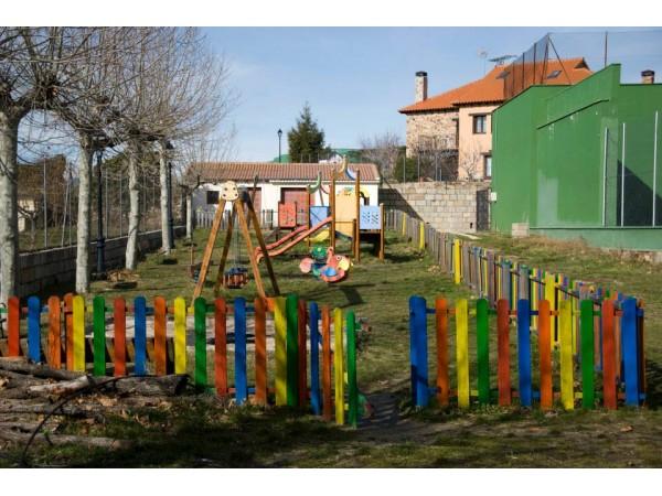 parque infantil en el municipio