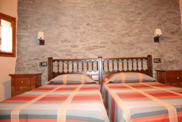 habitación dobles dos camas separadas