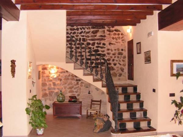 El llaurador casa rural benimeli marina alta - Salones con escaleras ...