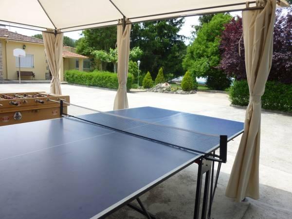Ping pong y futbolín