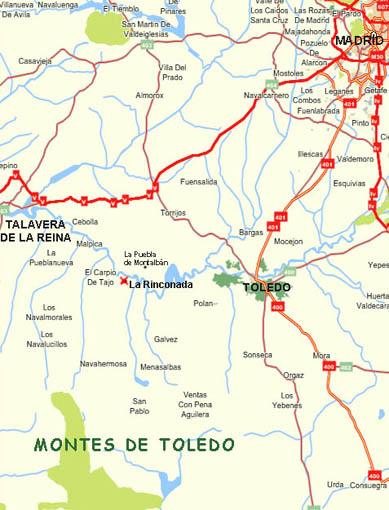 mapa de La Casa De La Veleta