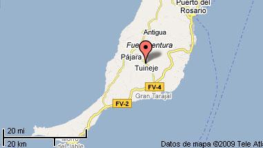 mapa de Casa Tamasite