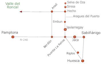 mapa de Casa Lo Ferrero