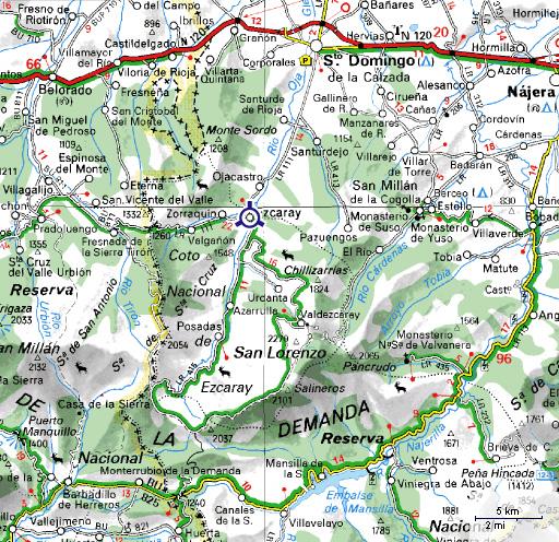 mapa de Apartamentos Turisticos Altuzarra