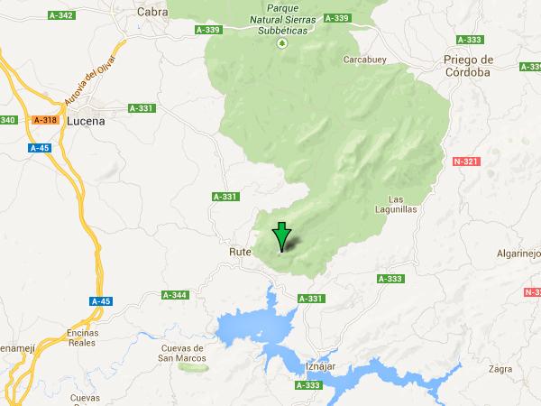 mapa de El Rincon De Carmen