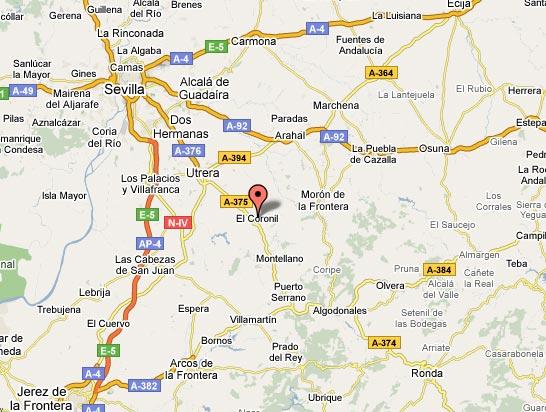 mapa de La Casa Del Zapatero