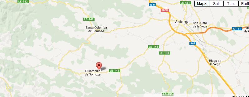 mapa de Hosteria Camino