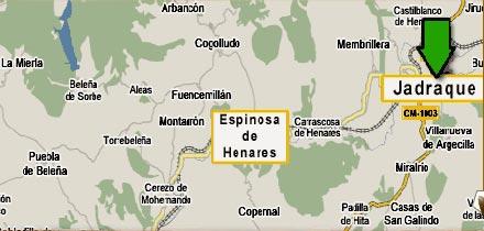 mapa de Casa Rural La Gesta