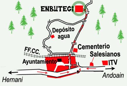 mapa de Enbutegi