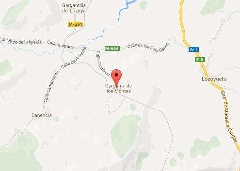mapa de Los Portales
