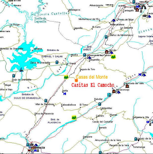 mapa de La Ondina Del Madrigal