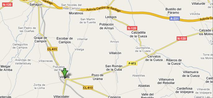 mapa de Centro De Turismo Rural El Señorio