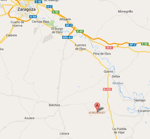 mapa de Casa Diego