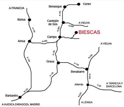 mapa de Casa Tuzalet