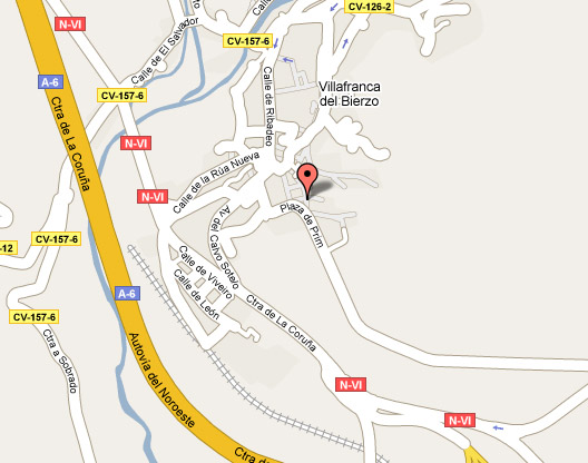 mapa de La Puerta Del Perdon