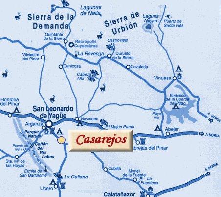 mapa de Casa Rural El Carrascal