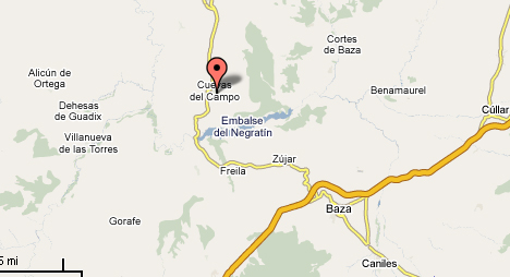 mapa de Cuevas Del Sur