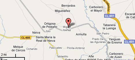 mapa de El Descanso De Los Lares