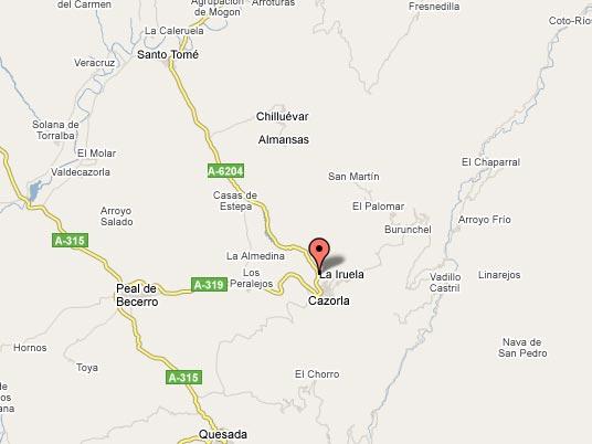 mapa de La Casa De La Piscina