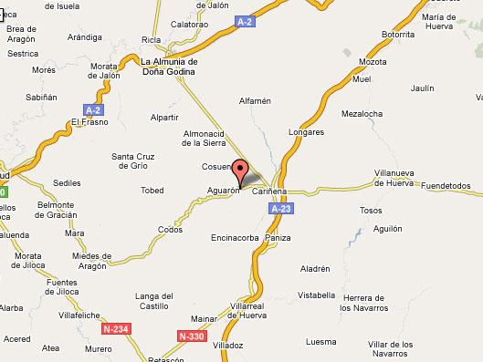 mapa de La Cabaneta