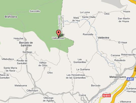 mapa de La Hornera De La Abuela
