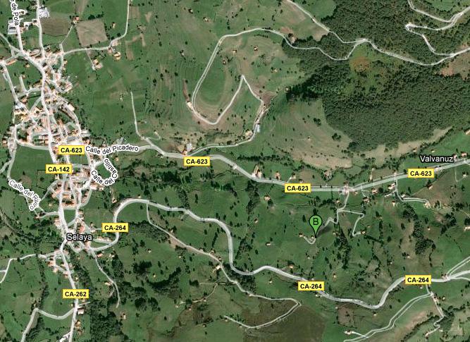 mapa de La Cabaña Del Abuelo