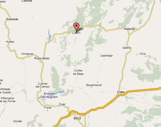 mapa de Cortijo El Plantío