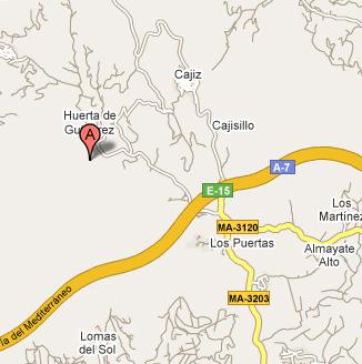 mapa de Cortijo De Campo El Maurel