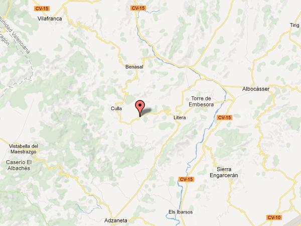 mapa de Masia Torre Amador