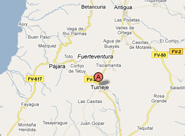 mapa de Agroturismo La Gayria