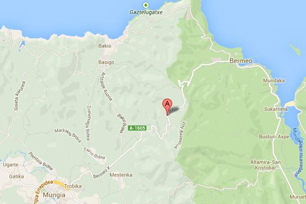 mapa de Casa Rural Arrizurieta Landetxea
