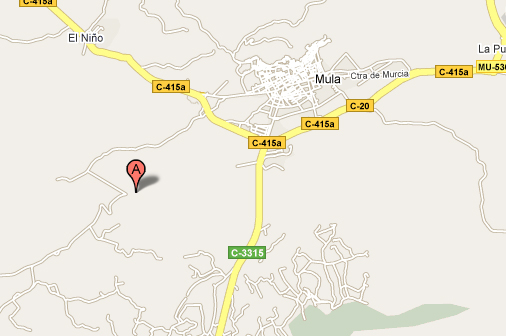 mapa de Casa Rural Carretero