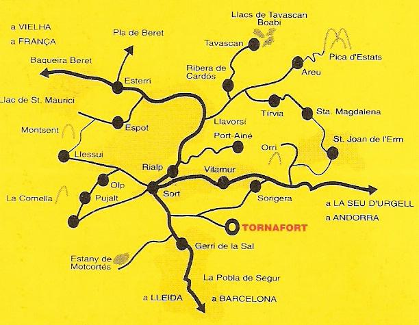 mapa de Casa Baró