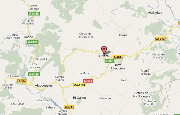 mapa de Villa Filomena