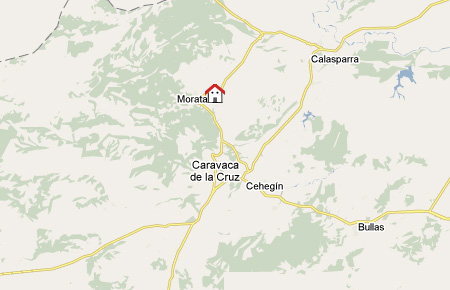 mapa de El Serrano