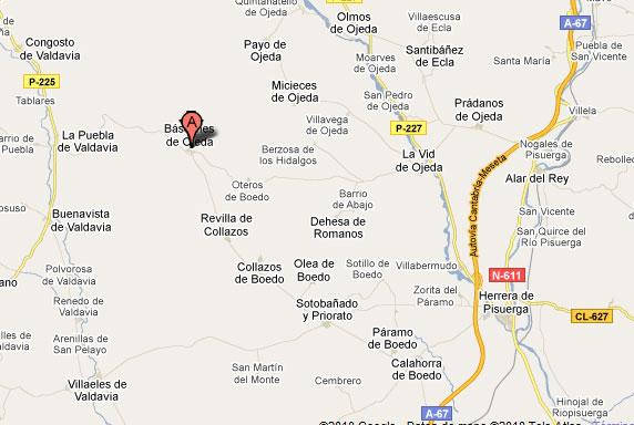 mapa de Hostal La Tabla
