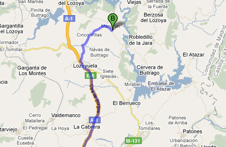 mapa de Saika Rural