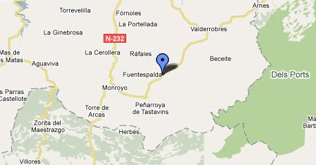 mapa de Casa El Corral