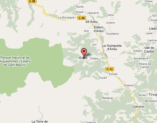 mapa de Casa Peret De Peretó