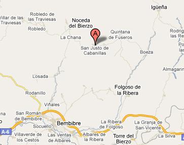 mapa de Casa La Ruda
