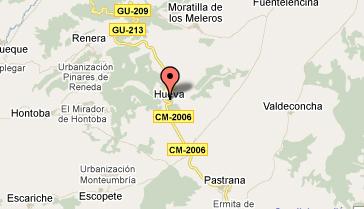 mapa de Esencias De La Alcarria