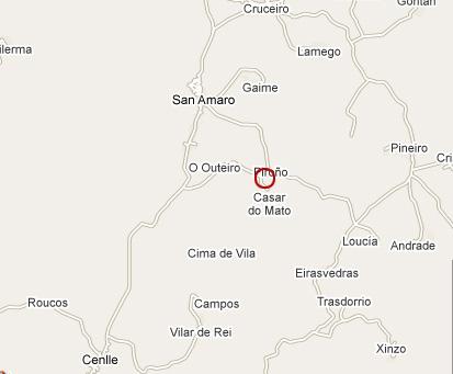 mapa de A Palleiriña